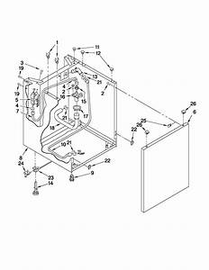 Whirlpool Lte5243dqa Laundry Center Parts