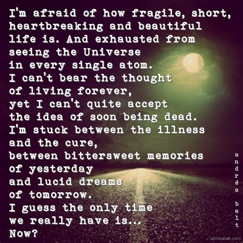 Life Is Short And Fragile Quotes