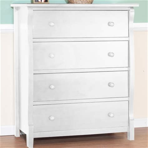 Sorelle Verona Dresser White by Sorelle Tuscany 4 Drawer Dresser In White Free Shipping