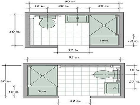 Floor Plan Small Bathroom by Bathroom Layouts Dimensions Modern On Bathroom Inside