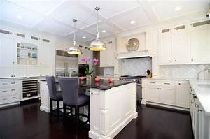 open plan soft white cabinets contrasting dark floors contemporary kitchen dc metro 1502