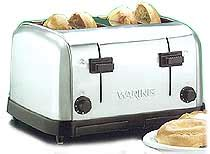 waring 4 slice commercial toaster waring four slice commercial toaster wct708