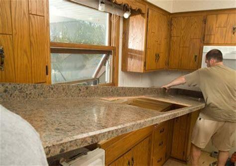 HOME DZINE Kitchen   Replace kitchen countertop