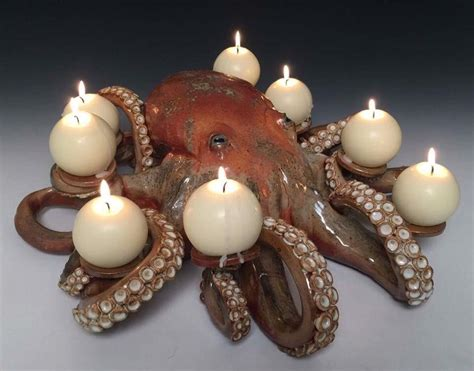 octopus candle holder this octopus candle holder that my made in a