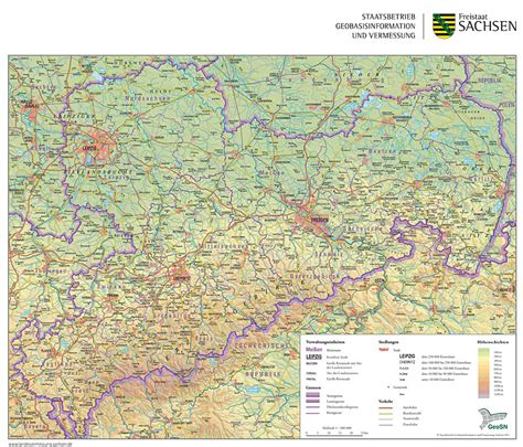 Beside a state profile, this page offers links to. 15+ sachsen karte landschaften | exeter-ca.com