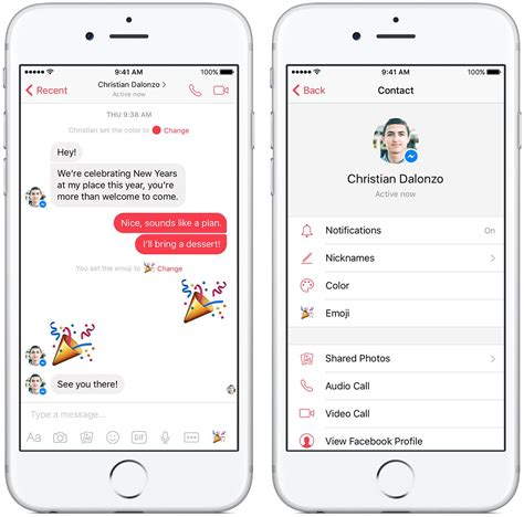 how to log messenger on iphone messenger gains photo magic feature per chat