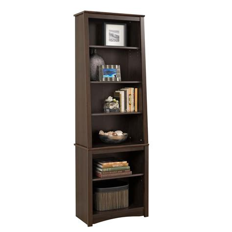 25 Inch Bookcase by Prepac 26 25 Inch X 80 Inch X 14 25 Inch 6 Shelf