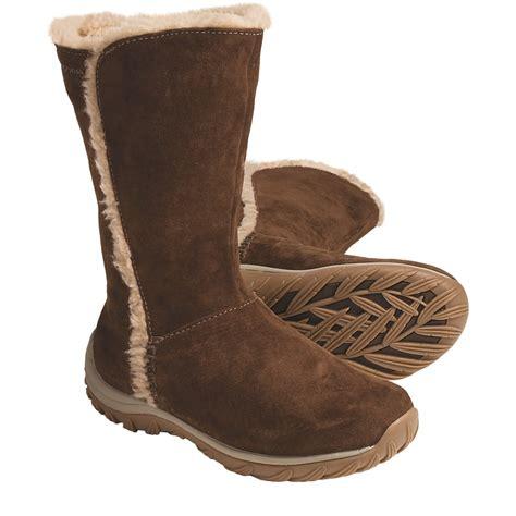 patagonia lugano winter boots waterproof polartec