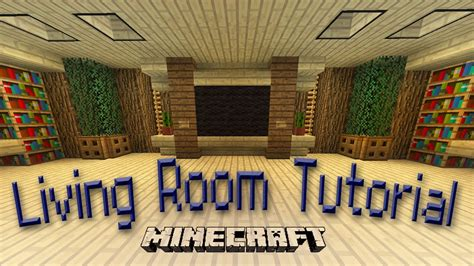 minecraft     awesome living room design youtube