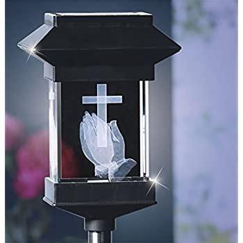 Amazon.com : Solar Lighted Angel by Eternal Light   Solar