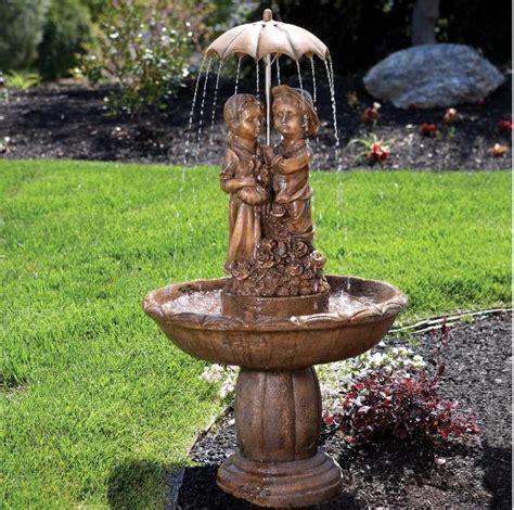 fountains  backyard pool design ideas