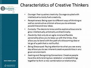 Objectives Relate creative thinking to graphic design ...