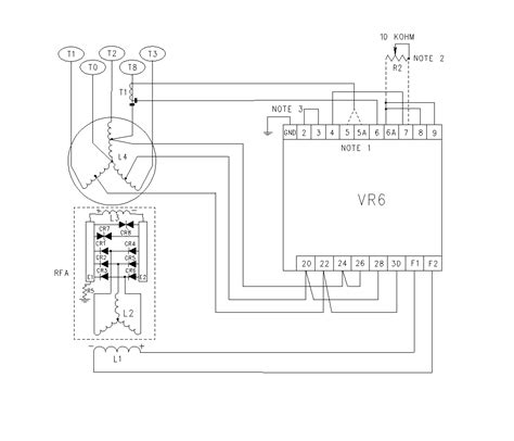 wiring diagrams vr6 voltage regulator i02654568 caterpillar