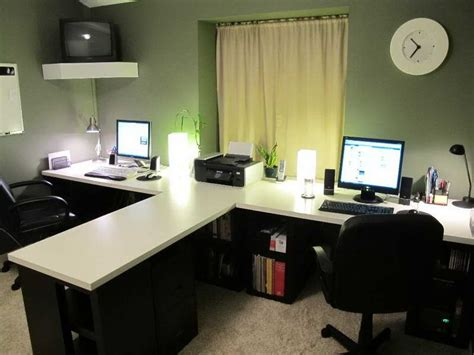 Best 25+ Two Person Desk Ideas On Pinterest