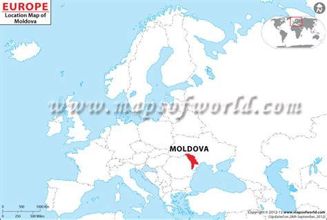 Where is Moldova? Location of Moldova