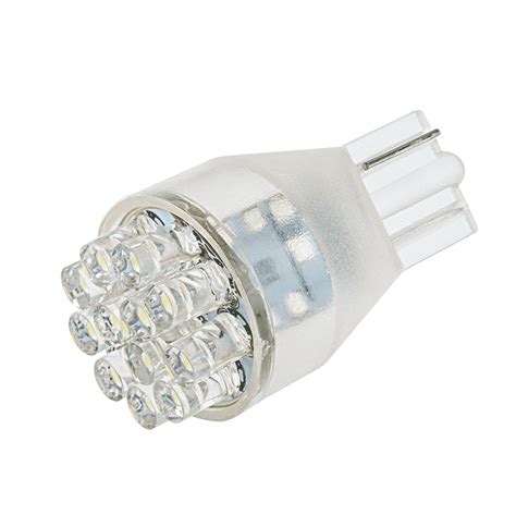 921 led bulb 12 led forward firing cluster miniature
