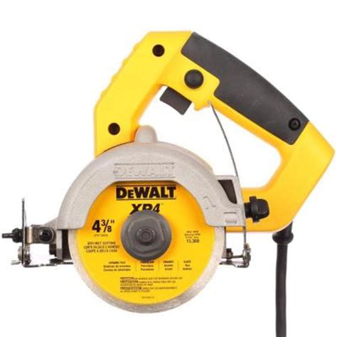 Handheld Tile Cutter Home Depot dewalt 4 3 8 in held tile cutter dwc860w