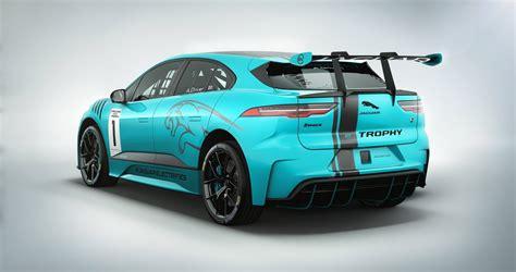 Jaguar Car : Jaguar Details I-pace Race Car Built By Jlr's Svo Division