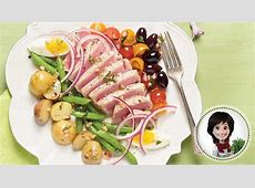 Salade niçoise au thon Recette IGA Josée di Stasio