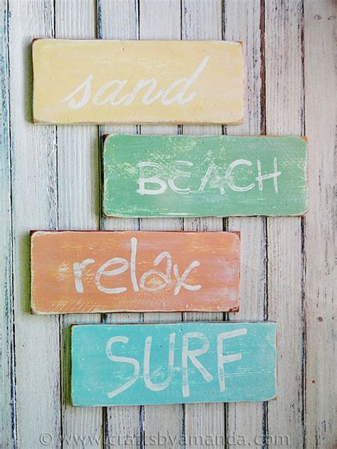 beach signs weathered rustic beach signs