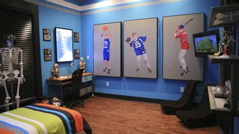 + Images About Boy's Sports Bedroom On Pinterest