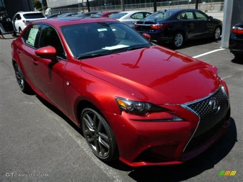 red lexus is 250 2006 matador red mica 2014 lexus is 250 f sport awd exterior