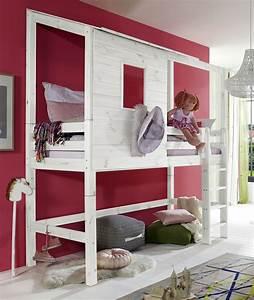 Bett Für Mädchen : extra hohes abenteuer hochbett f r m dchen kids paradise ~ Markanthonyermac.com Haus und Dekorationen