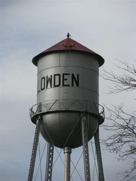 landmarkhuntercom lowden water tower