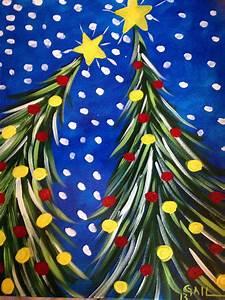 U0026quot, Easy, Peasy, Christmas, Treesys, U0026quot, By, Gail, Heath, Acrylic