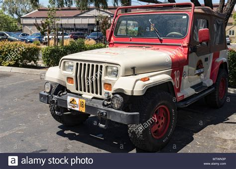 Park Wrangler by Jurassic Park Jeep Stock Photos Jurassic Park Jeep Stock