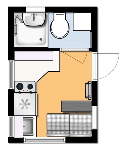 home design floor plans katelyn hoisington 39 s 8x12 tiny house design