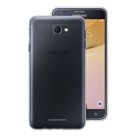 official samsung galaxy  prime clear cover case
