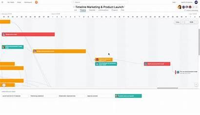 Timeline Project Create Task Simple Steps Template