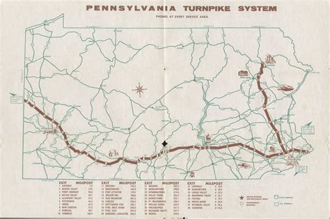pennsylvania state road maps