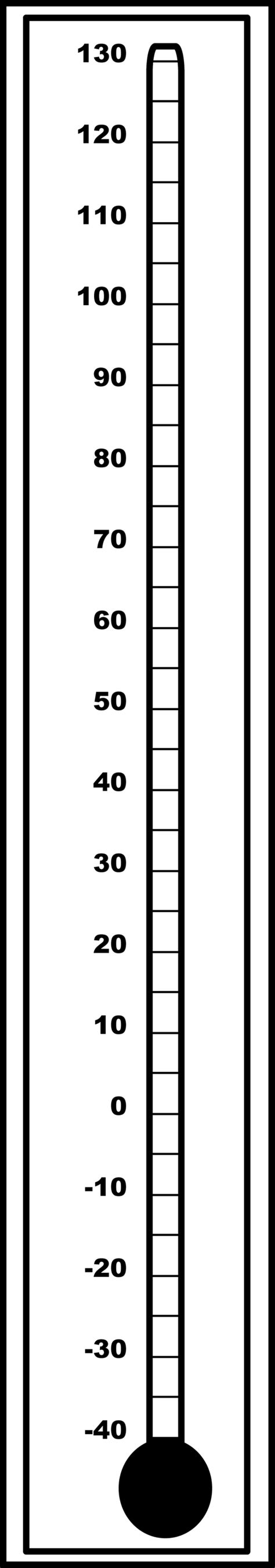 outdoor fahrenheit thermometers clipart
