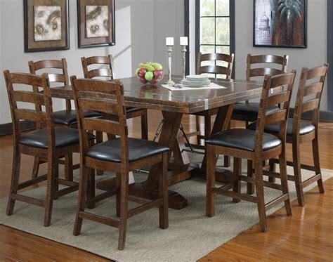 Dark Wood Square Dining Tables   Dining Room Ideas