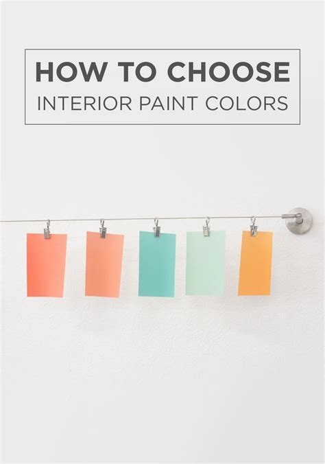 how to select paint colors for home interior take the guesswork out of your home makeover with this