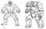 Hulk Coloring Pages She Printable Getcolorings sketch template