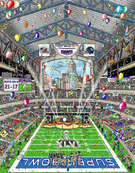 Super Bowl Xlvi Indianapolis Fazzino