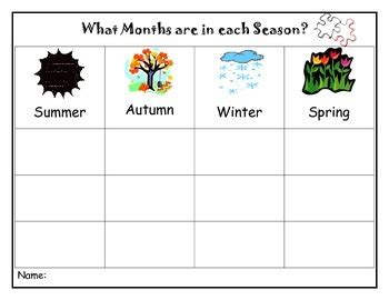 seasons and months sort package art activities online games tpt