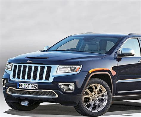 2018 Grand Cherokee Redesign Probable An Alternative Stage