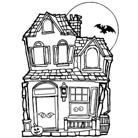 dessin maison de noel 195 imprimer