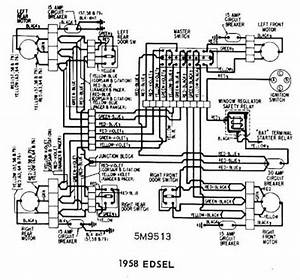 edsel 1958 windows wiring diagram all about wiring diagrams With 30 to 50 wiring diagram in addition 50 circuit breaker wire diagram