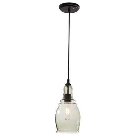 lantern pendant light black hton bay 1 light black mini pendant 17221 the home depot