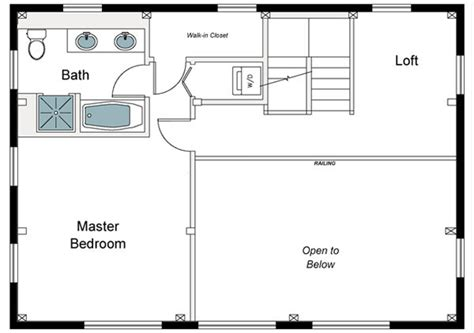 master bedroom plans with bath the millbrook barn home floor plan timberpeg timber 19153   barn home second floor plan