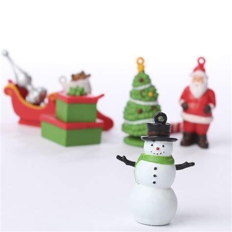 miniature christmas ornament figurines christmas