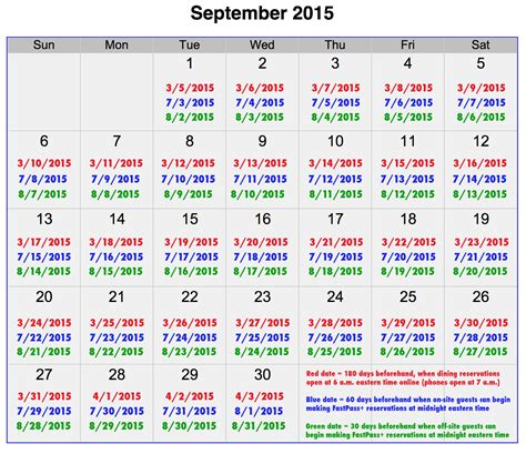 september  disney world crowd calendar disney world