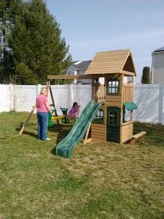 big backyard windale big backyard windale playset from toys r us installed in