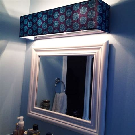 bathroom light fixture covers shade for hollywood light fixtures on etsy diy project