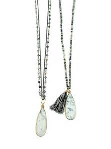 Jewelry Long Necklaces Black